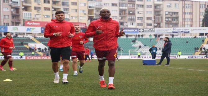 Kayserispor'da Angelo ve Mensah Fenerbahçe maçında oynamak istemiyoruz