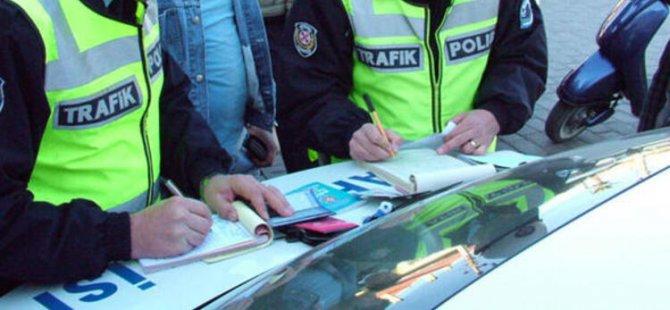 1-29 Şubat tarihleri arasında 10 bin 974 araca ceza yazıldı, 404 araç men edildi