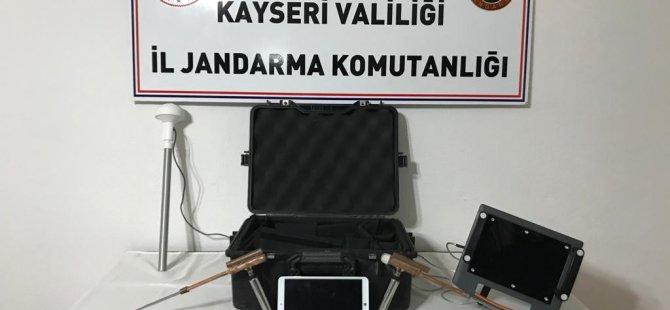 İncesu'da tarihi eser operasyonu: 4 gözaltı