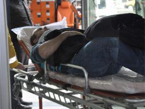Kocasinan ilçesi Erkilet mahallesinde 2 aracın çarpıştığı kazada 2 kişi yaralandı
