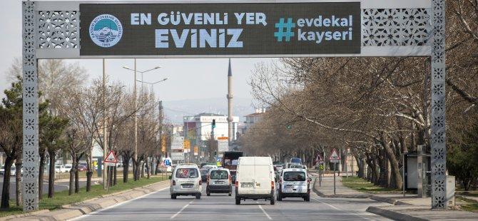 EVDE KAL KAYSERİ
