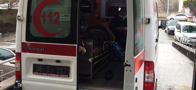 Bünyan'da trafik kazası: 4 yaralı