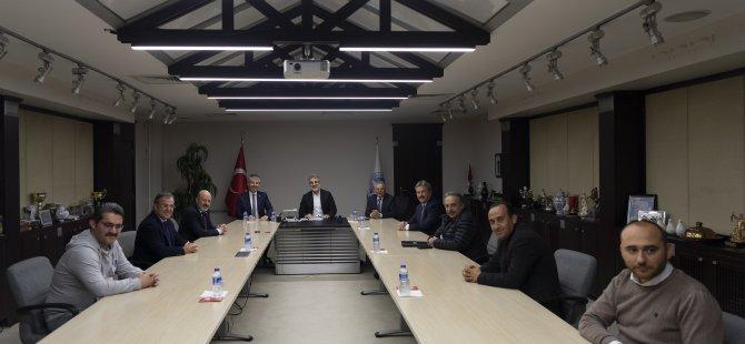 Kayseri Büyükşehir Belediyesi'nde koordinasyon toplantıları devam ediyor