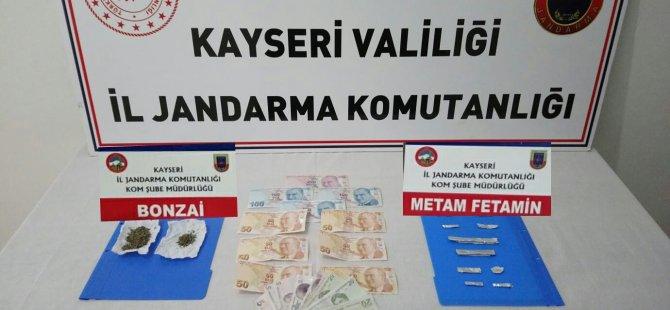 İncesu'da uyuşturucu operasyonu 3 kişi tutuklandı