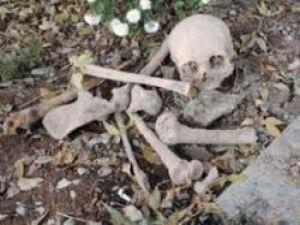 Kırıkkale'de Cephanelikte İnsan Kemikleri Bulundu