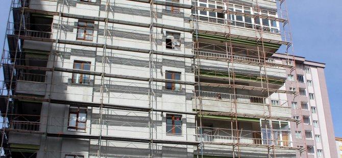 Caferbey'de Binanın 8. katından düşen işçi hayatını kaybetti