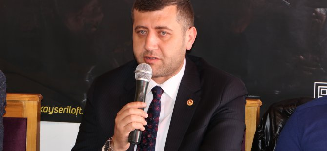 """Ersoy: """"Kayseri OSB'deki temsil giderini eleştiren, Cumhurbaşkanlığı Külliyesini eleştirenlerle aynı pozisyona düşüyor"""""""