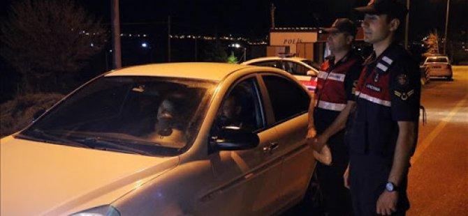 Kayseri'ye giriş ve çıkışlar 19 Mayıs'a kadar durduruldu