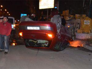 Kayseri'de Üç Aracın Karıştığı Trafik Kazasında 1 Kişi Öldü 3 Kişi Yaralandı