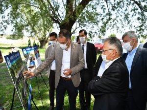 Başkan Büyükkılıç,Etnospor ve Okçuluk Merkezi'nin yapımına başlandığını belirtti