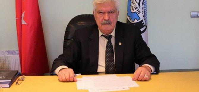 KESOB Başkanı Ahmet Övüç hastaneye kaldırıldı
