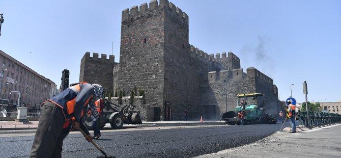 Kayseri'de yollar yenileniyor