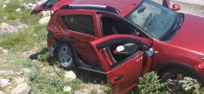 İki aracın çarpıştığı kazada 5 kişi yaralandı