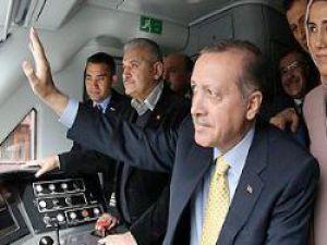 Eskişehir-Konya Hattı:Başbakan Erdoğan'ın katılımıyla seferlerine başladı