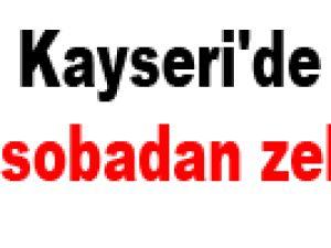Kayseri'de 2 kişi sobadan zehirlendi