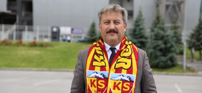 Koca şehirde Kayserispor'a  bir tek o başkan sahip çıkıyor