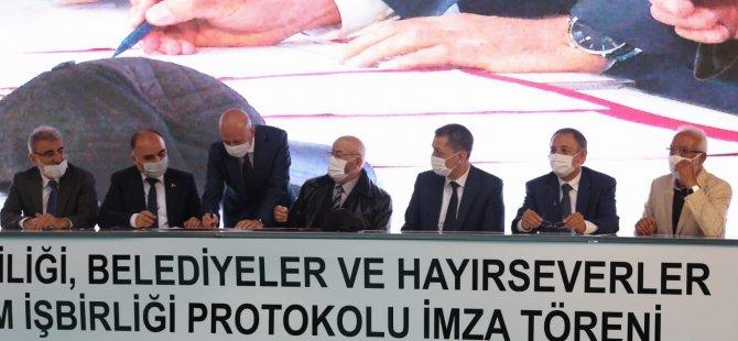 KOCASİNAN'A İKİ YENİ OKUL YAPILMASI İÇİN PROTOKOL  İMZALANDI