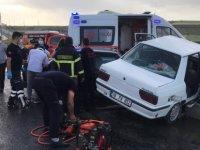 Tomarza yol ayrımında trafik kazası: 8 yaralı