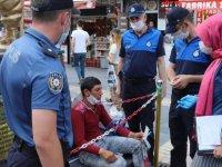Kayseri Büyükşehir'den dilenci operasyonu