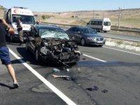 Himmetdede'de trafik kazası: 5 yaralı