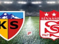 Kayserispor 2-0 Sivas'ta kazandı