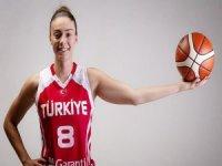 Bellona Kayseri Basketbol takımında imza şov