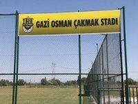Yahyalı Belediyesi Gazi Osman Çakmak Stadı yeni sezona hazır halde