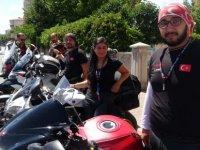 Türkiye turu kapsamında Kayseri'de mola verdi