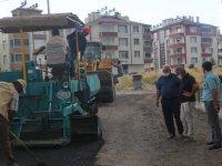 Develi'de asfalt çalışması tüm hızıyla devam ediyor