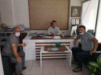 Merkez Bina Yönetimi Dezenfekte Çalışmaları