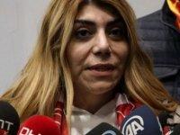Hes Kablo Kayserispor Başkanı Berna Gözbaşı, isyan etti