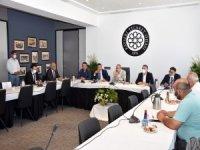 Turizm sektör temsilcileri ile kamu bankaları bölge müdürleri KTO'da toplandı