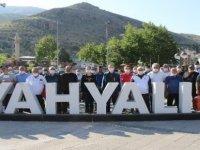 Yahyalı Belediyesi Yaşam Yürüyüşü düzenledi