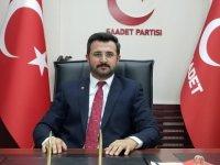 Saadet Parti Kayseri İl Başkanlığında Görev Değişimi