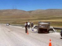 Dörttaş mevkisinde trafik kazası: 1 ölü, 3 yaralı