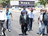 Talas Cemil Baba Caddesi yenileniyor