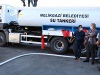 Melikgazi'de ilçeye hizmet için araç filosu güçlendiriliyor