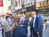 Kayseri ticaret odası Başkanı Gülsoy denetimlere katıldı