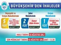 Kayseri Büyükşehir'den Üç İhale Birden