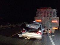 Yemliha mevkinde feci kaza: 2 ölü, 1 yaralı