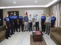 Yahyalı Belediye Başkanı Öztürk, Zabıta Haftası'nı personeliyle kutladı