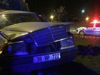 Kayseri'de meydana gelen kazada bir kişi hayatını kaybetti