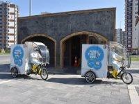 Kocasinan'da doğayla dost çevreci araç ile kesintisiz temizlik