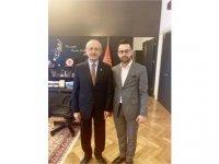 CHP Gençlik Kolları Genel Başkanlığı için İsmi Geçen Sergen Doğan, Kılıçdaroğlu İle Görüştü