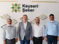Sivas ve Develi'den Başkan Akay'a hayırlı olsun ziyareti