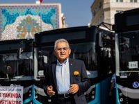 Başkan Büyükkılıç'ın ulaşım hamlesi, vaka artışının önüne geçti