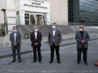 Başkan Palancıoğlu Hürriyet ve Yeniköy Mahallelerini İnceledi