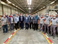 Binali Yıldırım, Erciyes Anadolu Holding'i ziyaret etti