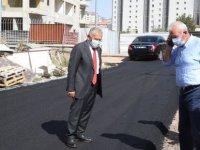 Büyükkılıç, Tapu Kadastro Bölge Müdürlüğü hizmet binası çevresindeki çalışmaları yerinde denetledi