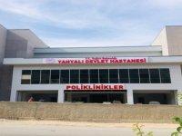43 Milyon tl'ye mal olan Yahyalı Devlet Hastanesi'nin tabelaları asıldı